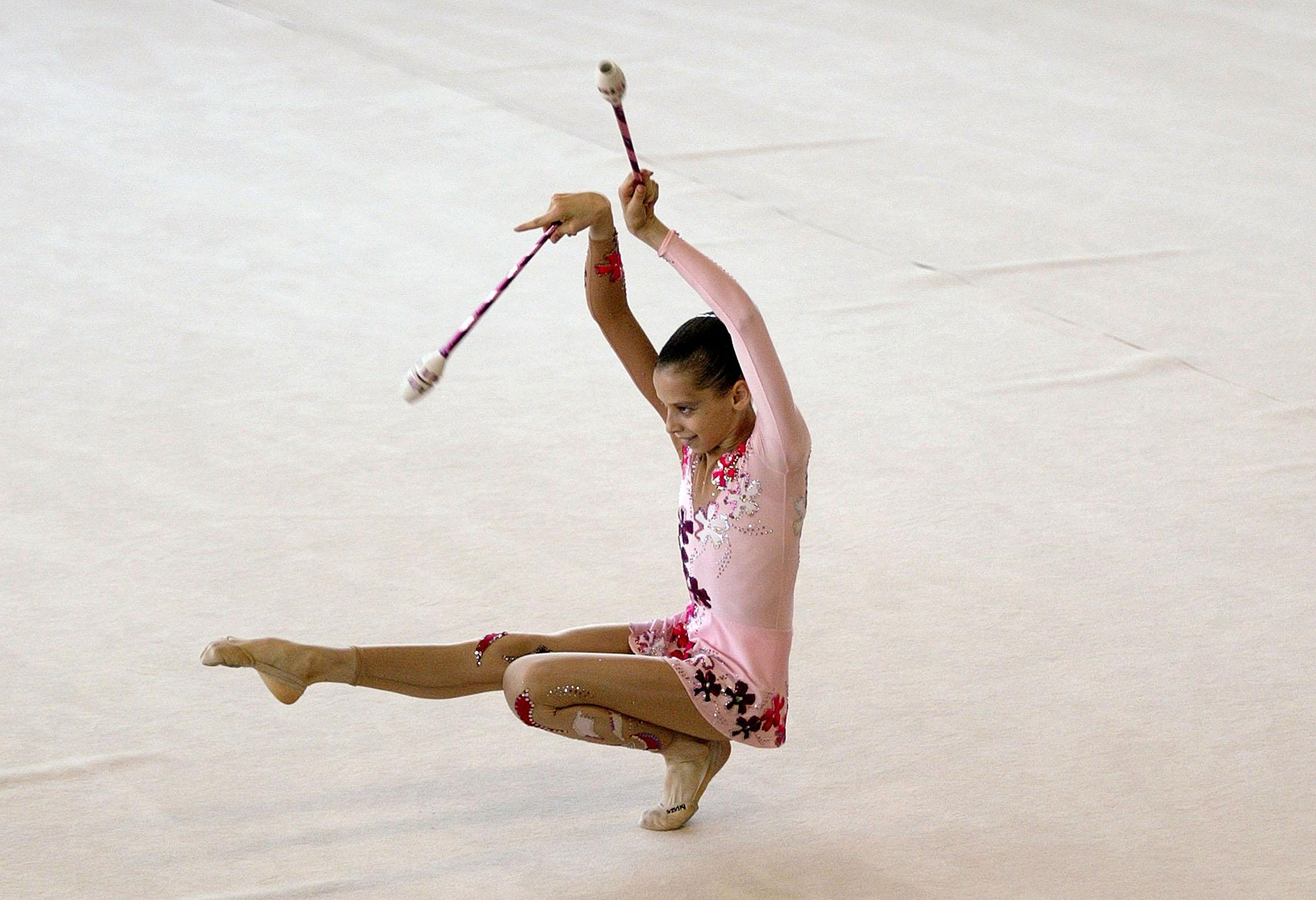 Léa PEINOT du club de CERGY Gymnastique Rythmique