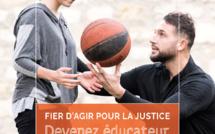 """Ministère de la justice : """"Devenez éducateur de la protection judiciaire de la jeunesse"""""""