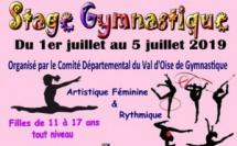 Stage d'été GAF & GR du 01.07.2019 au 05.07.2019