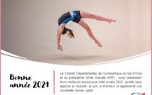 Le CDVO Gym et sa présidente vous souhaitent une très belle année 2021.